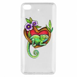 Чехол для Xiaomi Mi 5s Chameleon on a branch