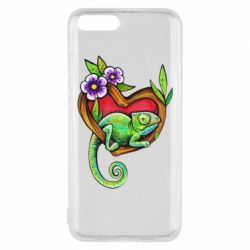 Чохол для Xiaomi Mi6 Chameleon on a branch