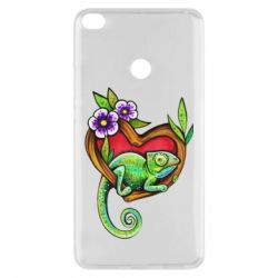 Чохол для Xiaomi Mi Max 2 Chameleon on a branch