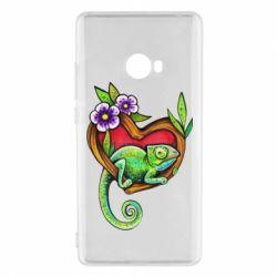Чохол для Xiaomi Mi Note 2 Chameleon on a branch