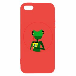 Чехол для iPhone5/5S/SE Chameleon starbucks 2