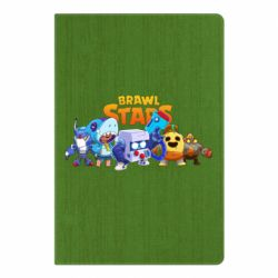 Блокнот А5 Characters of the game Brawl stars