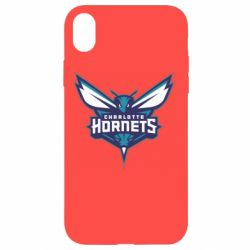 Чехол для iPhone XR Charlotte Hornets Logo - FatLine