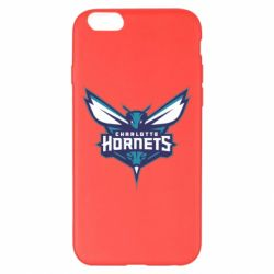 Чехол для iPhone 6 Plus/6S Plus Charlotte Hornets Logo - FatLine