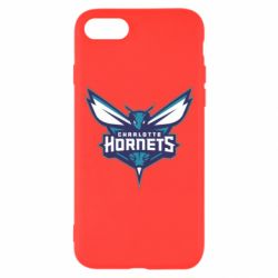 Чехол для iPhone 7 Charlotte Hornets Logo - FatLine
