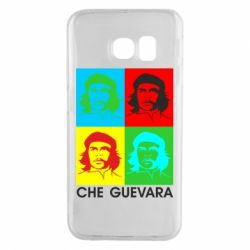Чохол для Samsung S6 EDGE Che Guevara 4 COLORS