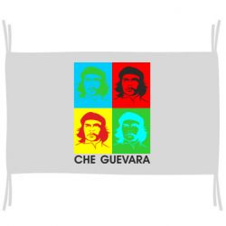 Прапор Che Guevara 4 COLORS