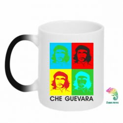 Кружка-хамелеон Che Guevara 4 COLORS