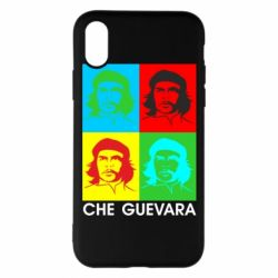 Чохол для iPhone X/Xs Che Guevara 4 COLORS