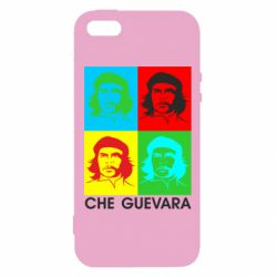 Чохол для iphone 5/5S/SE Che Guevara 4 COLORS
