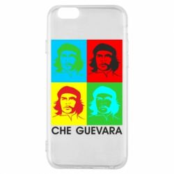 Чохол для iPhone 6/6S Che Guevara 4 COLORS