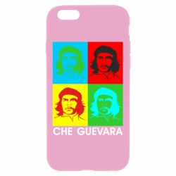 Чохол для iPhone 6 Plus/6S Plus Che Guevara 4 COLORS