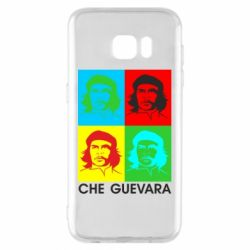 Чохол для Samsung S7 EDGE Che Guevara 4 COLORS