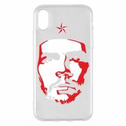Чохол для iPhone X/Xs Che Guevara face