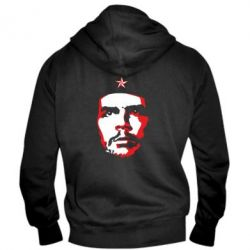 Чоловіча толстовка на блискавці Che Guevara face