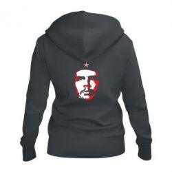 Жіноча толстовка на блискавці Che Guevara face