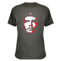 Камуфляжна футболка Che Guevara face