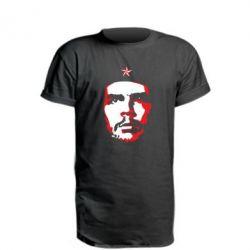 Подовжена футболка Che Guevara face