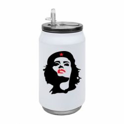 Термобанка 350ml Che Guevara girl