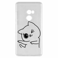 Чехол для Xiaomi Mi Mix 2 Cheerful kitten