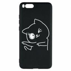 Чехол для Xiaomi Mi Note 3 Cheerful kitten