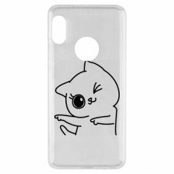 Чехол для Xiaomi Redmi Note 5 Cheerful kitten