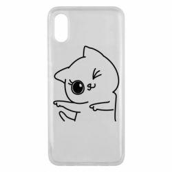 Чехол для Xiaomi Mi8 Pro Cheerful kitten