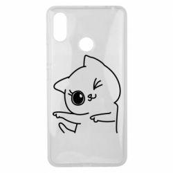 Чехол для Xiaomi Mi Max 3 Cheerful kitten