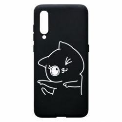 Чехол для Xiaomi Mi9 Cheerful kitten