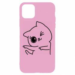 Чохол для iPhone 11 Cheerful kitten
