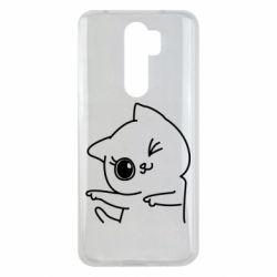 Чехол для Xiaomi Redmi Note 8 Pro Cheerful kitten