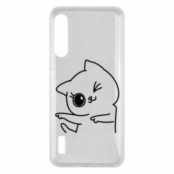 Чохол для Xiaomi Mi A3 Cheerful kitten