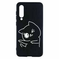 Чехол для Xiaomi Mi9 SE Cheerful kitten