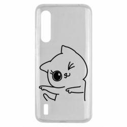 Чехол для Xiaomi Mi9 Lite Cheerful kitten