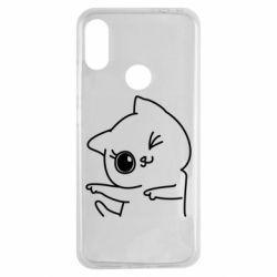 Чехол для Xiaomi Redmi Note 7 Cheerful kitten