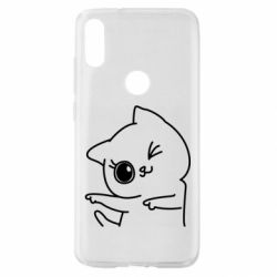 Чехол для Xiaomi Mi Play Cheerful kitten