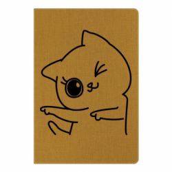 Блокнот А5 Cheerful kitten