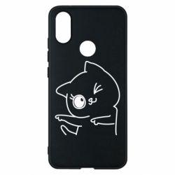 Чехол для Xiaomi Mi A2 Cheerful kitten