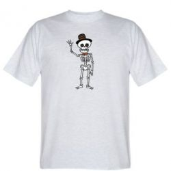 Футболка Cheerful Skeleton