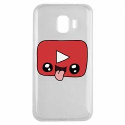 Чохол для Samsung J2 2018 Cheerful YouTube
