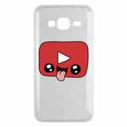 Чохол для Samsung J3 2016 Cheerful YouTube