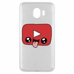 Чохол для Samsung J4 Cheerful YouTube
