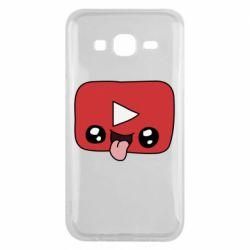 Чохол для Samsung J5 2015 Cheerful YouTube