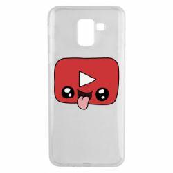 Чохол для Samsung J6 Cheerful YouTube