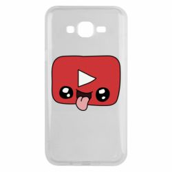Чохол для Samsung J7 2015 Cheerful YouTube