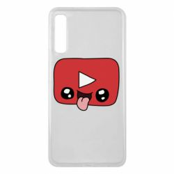 Чохол для Samsung A7 2018 Cheerful YouTube