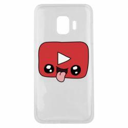 Чохол для Samsung J2 Core Cheerful YouTube