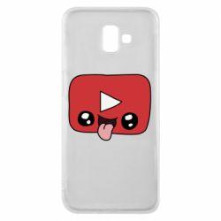 Чохол для Samsung J6 Plus 2018 Cheerful YouTube