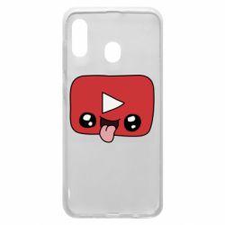 Чохол для Samsung A20 Cheerful YouTube