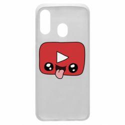 Чохол для Samsung A40 Cheerful YouTube